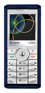 Sagem my300X accessories