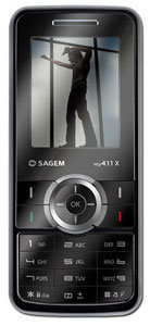 Sagem my411x accessories