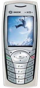 Sagem myX5-2 accessories