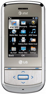 LG GD710 Shine II accessories