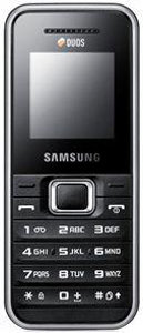 Samsung E1182 accessories