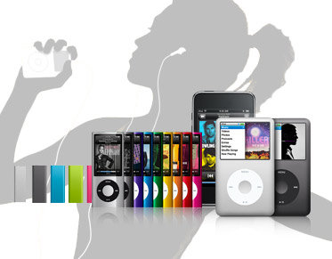 iPod accessories by model