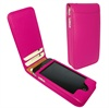 iPhone 4 / 4S Piel Frama Classic Magnetic Leather Case - Fuchsia