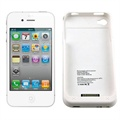 iPhone 4 / 4S Battery Case - White