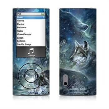 iPod Nano 5G Bark At The Moon Skin